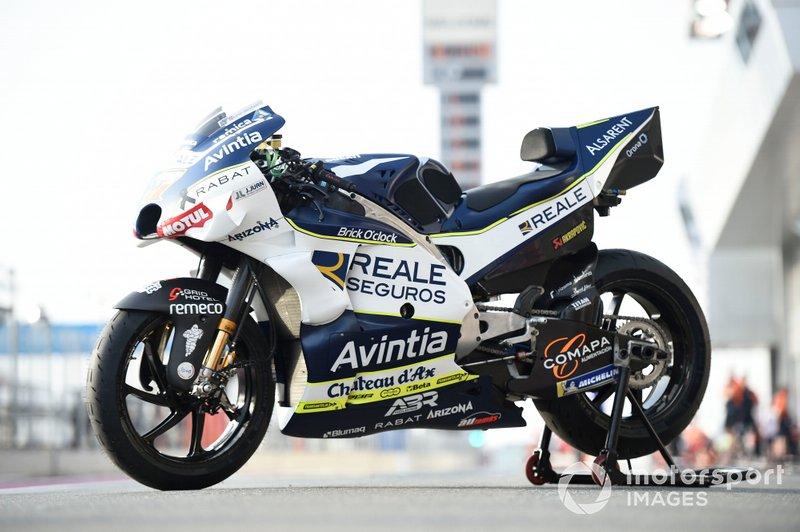 Avintia Ducati, bikes