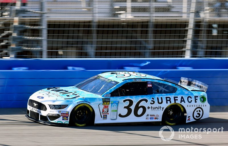 32. Matt Tifft, Front Row Motorsports, Ford Mustang Surface Sunscreen / Tunity