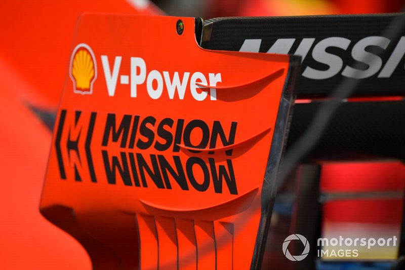 Mission logo, Ferrari SF90