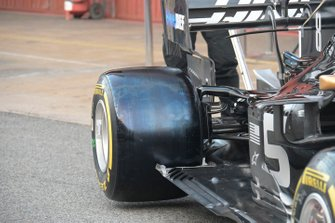 Haas F1 Team VF-19 detail