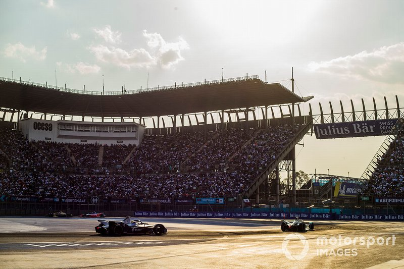 Mitch Evans, Panasonic Jaguar Racing, Jaguar I-Type 3 Robin Frijns, Envision Virgin Racing, Audi e-tron FE05