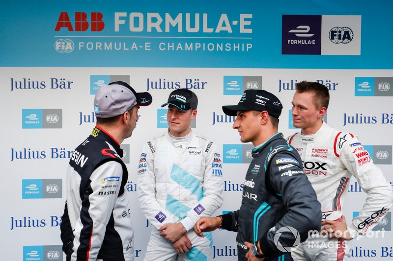 Sébastien Buemi, Nissan e.dams, Stoffel Vandoorne, HWA Racelab, Mitch Evans, Panasonic Jaguar Racing, Maximilian Gunther, Dragon Racing