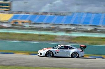 #24 MP1A Porsche GT3 Cup driven by Adan Ramos, Luis Gaytan, and Rene Kattan of NGT Motorsport