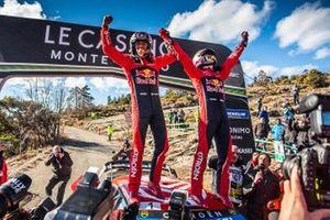 Winners Sébastien Ogier, Julien Ingrassia, Citroën World Rally Team Citroen C3 WRC