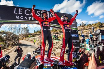 Winnaars Sébastien Ogier, Julien Ingrassia, Citroën World Rally Team Citroen C3 WRC