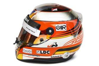 Il casco di Jules Bianchi