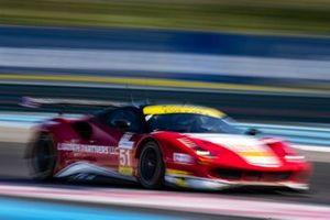 #51 Luzich Racing Ferrari F488 GTE: Alessandro Pier Guidi, Nicklas Nielsen, Fabien Lavergne