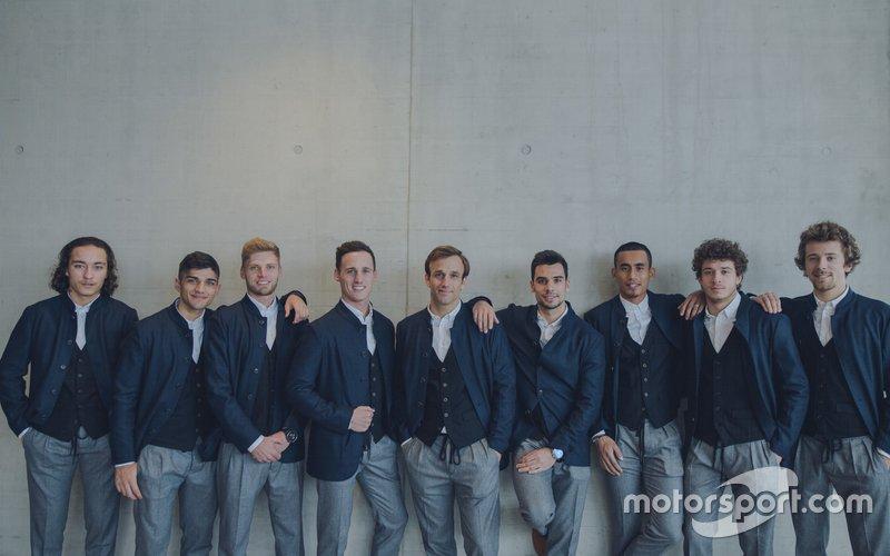Team riders, KTM Team launch presentation
