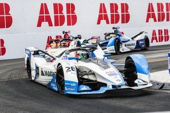 Antonio Felix da Costa, BMW I Andretti Motorsports, BMW iFE.18, Lucas Di Grassi, Audi Sport ABT Schaeffler, Audi e-tron FE05, Alexander Sims, BMW I Andretti Motorsports, BMW iFE.18