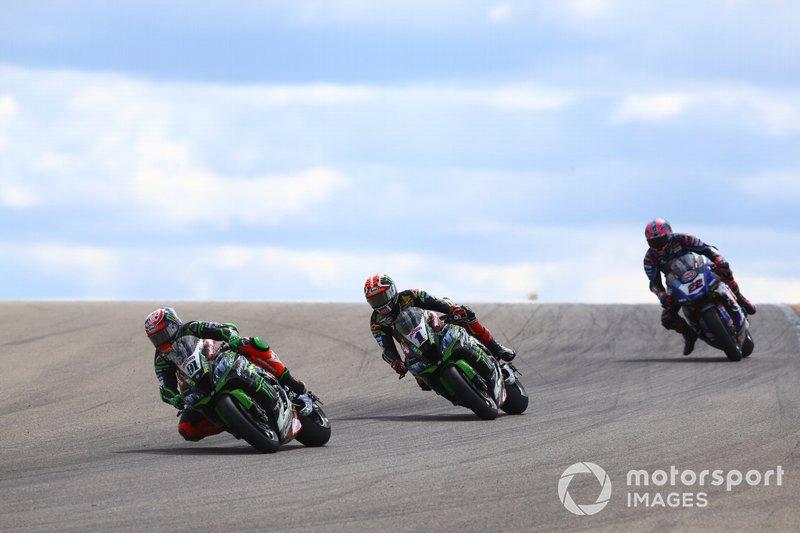 Леон Хеслем, Джонатан Рей, Kawasaki Racing, Алекс Лоус, Pata Yamaha