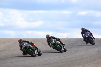 Leon Haslam, Kawasaki Racing, Jonathan Rea, Kawasaki Racing, Alex Lowes, Pata YamahaAlvaro Bautista, Aruba.it Racing-Ducati Team