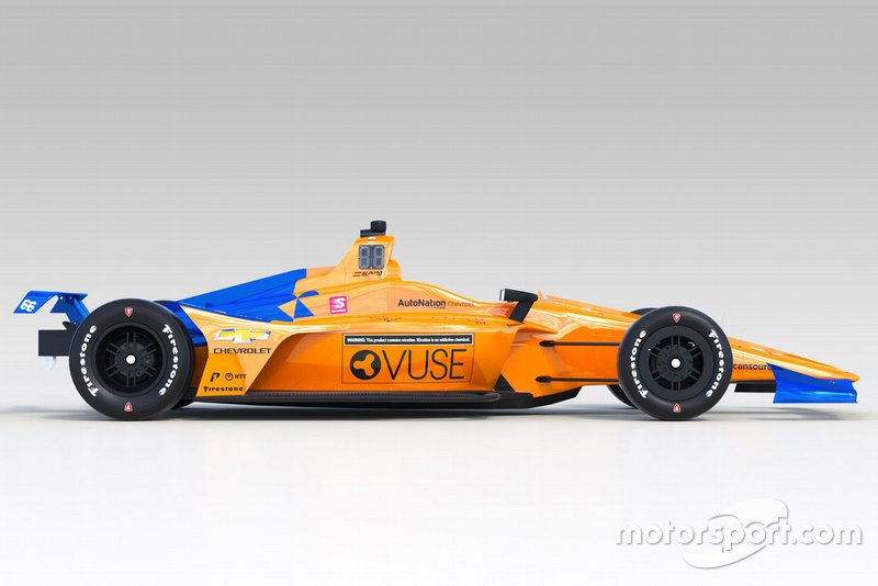 Indy-500-Design 2019: Fernando Alonso, McLaren Racing