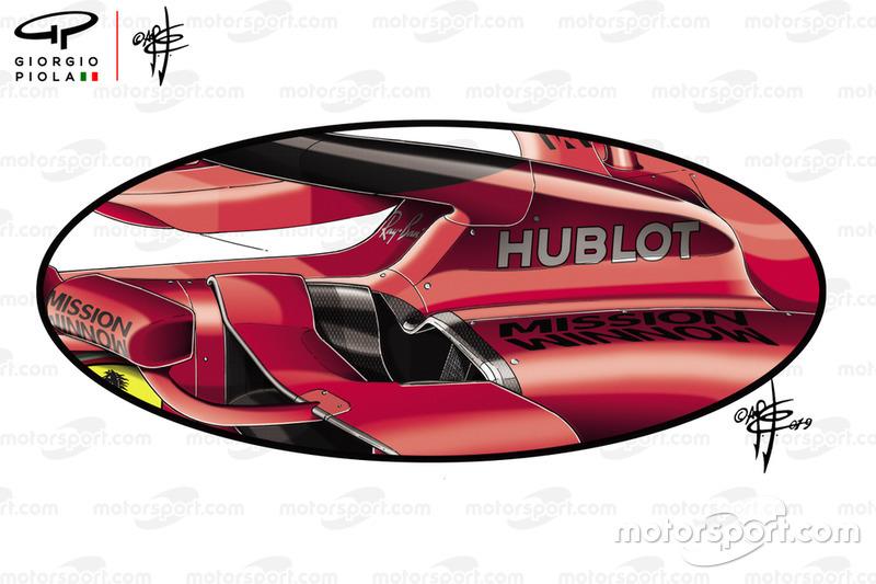 Ferrari SF90 detalle lateral