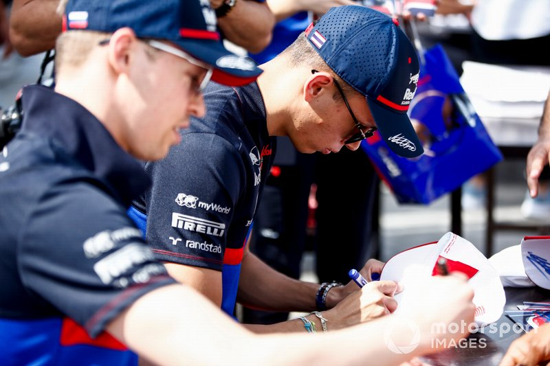 Алекс Албон, Toro Rosso