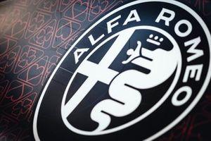Alfa Romeo Racing logo detail