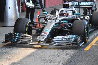 Mercedes AMG F1, dettaglio