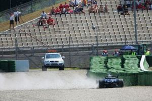 Nico Rosberg, Williams FW28, incidente