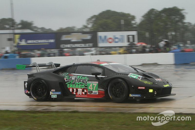 #47 Precision Performance Motorsports Lamborghini Huracan GT3: Brandon Gdovic, Don Yount,