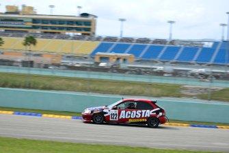 #122 MP4C Honda Civic driven by Angel Acosta of Acosta Motorsports