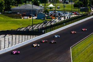 Jack Harvey, Meyer Shank Racing Honda, Juan Pablo Montoya, Arrow McLaren SP Chevrolet, Will Power, Team Penske Chevrolet