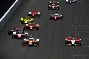 James Hinchcliffe, Andretti Steinbrenner Autosport Honda, Simona De Silvestro, Paretta Autosport Chevrolet