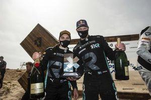 Molly Taylor, Johan Kristoffersson, Rosberg X Racing , con il trofeo