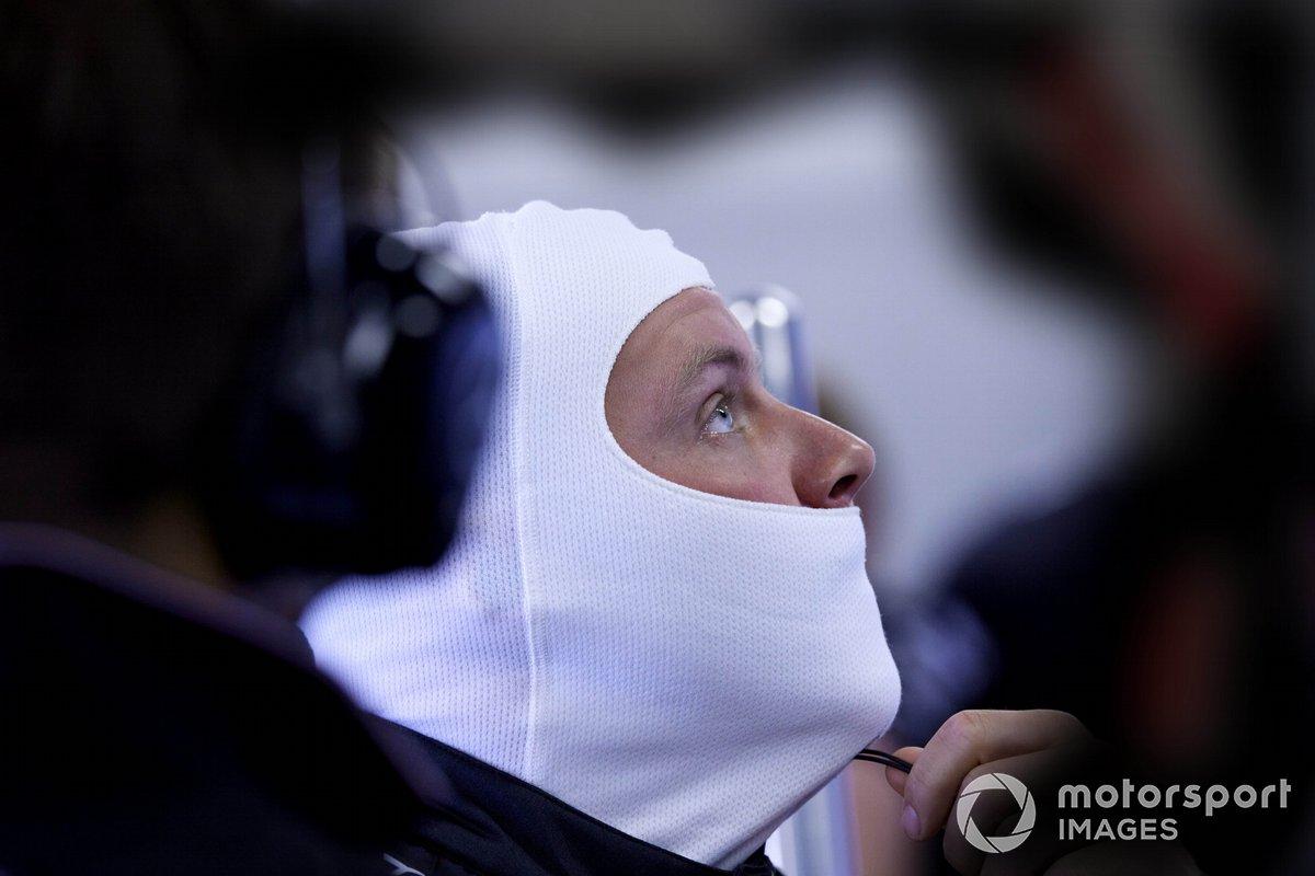 Valtteri Bottas, Mercedes, bersiap untuk balapan