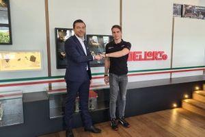 DELLORTO official sponsor del team Ghinzani Arco Motorsport con il pilota Daniele Cazzaniga