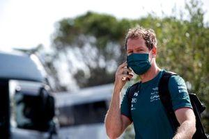 Sebastian Vettel, Aston Martin arrives
