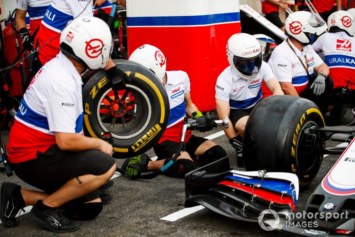 Pitstop de Haas F1