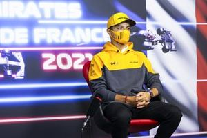 Lando Norris, McLaren in conferenza stampa