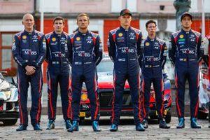 Thierry Neuville, Martijn Wydaeghe, Craig Breen, Paul Nagle, Ott Tänak, Martin Järveoja, Hyundai Motorsport Hyundai i20 Coupe WRC