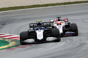Nicholas Latifi, Williams FW43B, Nikita Mazepin, Haas VF-21