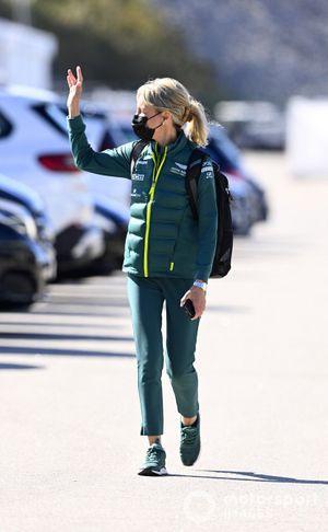 Britta Roeske, PR Manager for Lewis Hamilton, Mercedes