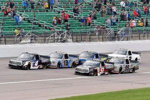 John Hunter Nemechek, Kyle Busch Motorsports, Toyota Tundra Mobil 1 and Kyle Busch, Kyle Busch Motorsports, Toyota Tundra Cessna