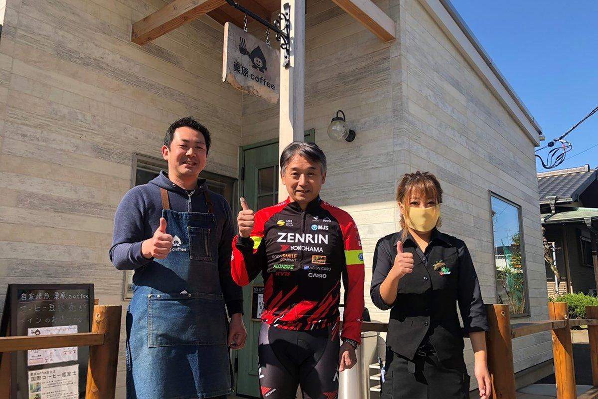 今もサイクリングを楽しむ片山右京