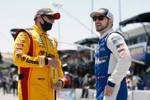 Michael McDowell, Front Row Motorsports, Ford Mustang Love's Travel Stops and Anthony Alfredo, Front Row Motorsports, Ford Mustang MDS