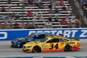 Ryan Newman, Roush Fenway Racing, Ford Mustang Wyndham Rewards, Michael McDowell, Front Row Motorsports, Ford Mustang Love's Travel Stops