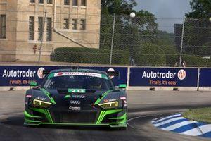 #39 CarBahn with Peregrine Racing Audi R8 LMS GT3, GTD: Richard Heistand, Jeff Westphal
