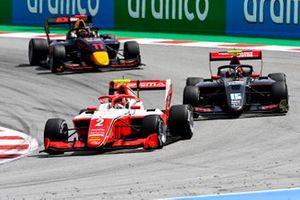 Arthur Leclerc, Prema Racing, Oliver Rasmussen, HWA Racelab, Ayumu Iwasa, Hitech Grand Prix