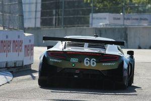 #66: Gradient Racing Acura NSX GT3, GTD: Marc Miller, Till Bechtolsheimer