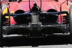 Ferrari SF21 cooling