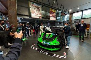 Presentazione dell'auto di Benedetto Strignano e Piergiacomo Randazzo, AB Racing