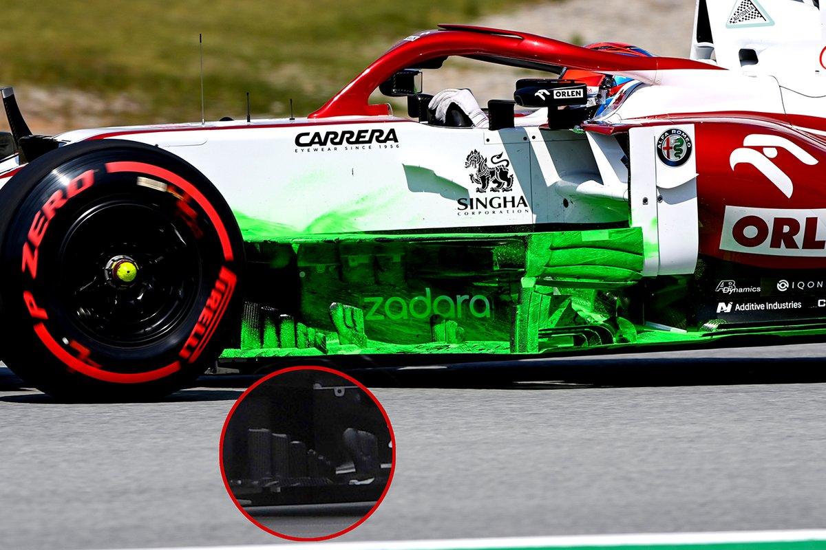 Alfa Romeo C41: Windabweiser