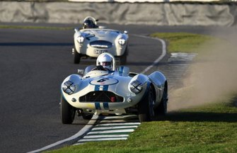 Freddie March Memorial Trophy Urs Mulller Aston Martin