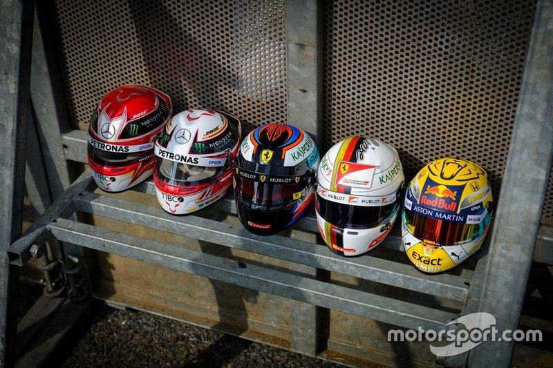 Helmets lineup
