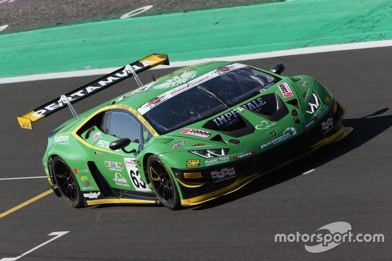 #63 Lamborghini Huracan GT3 Evo GT3 PRO, Imperiale Racing: Postiglione-Mul-Frassineti