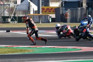 Can Oncu, KTM Ajo, après sa chute