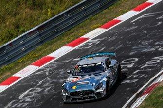 #162 Black Falcon Mercedes-AMG GT4: Tobias Müller, Yannick Mettler, Tim Scheerbarth, Tristan Viidas