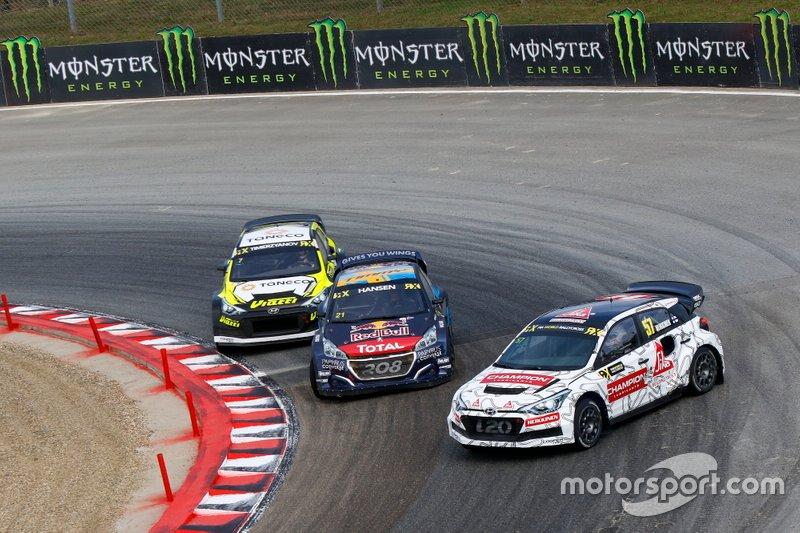 Toomas Heikkinen, GRX Set, Timmy Hansen, Team Hansen MJP, Timur Timerzyanov, GRX Taneco